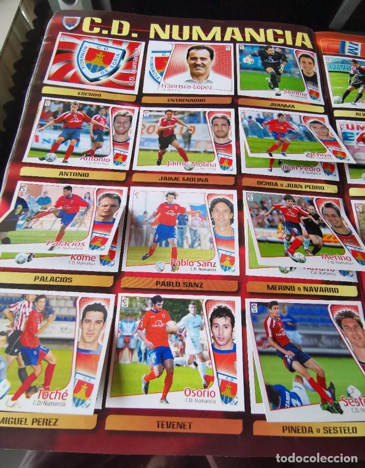 Coleccionismo deportivo: ALBUM CROMOS FUTBOL EDICIONES ESTE 04 05 LIGA 2004 2005 MESSI ROOKIE COLOCA EN VENTANILLA 509 CROMOS - Foto 36 - 218707542