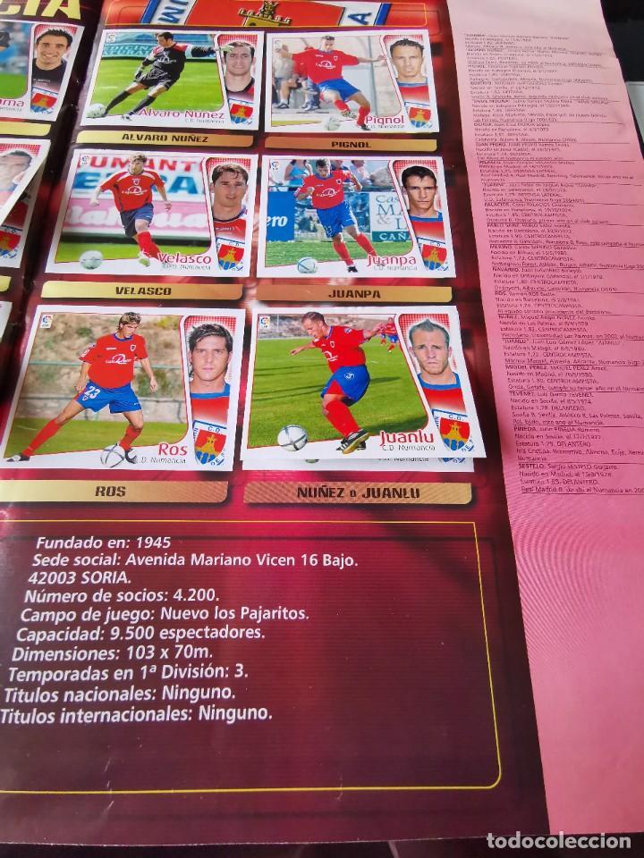Coleccionismo deportivo: ALBUM CROMOS FUTBOL EDICIONES ESTE 04 05 LIGA 2004 2005 MESSI ROOKIE COLOCA EN VENTANILLA 509 CROMOS - Foto 37 - 218707542