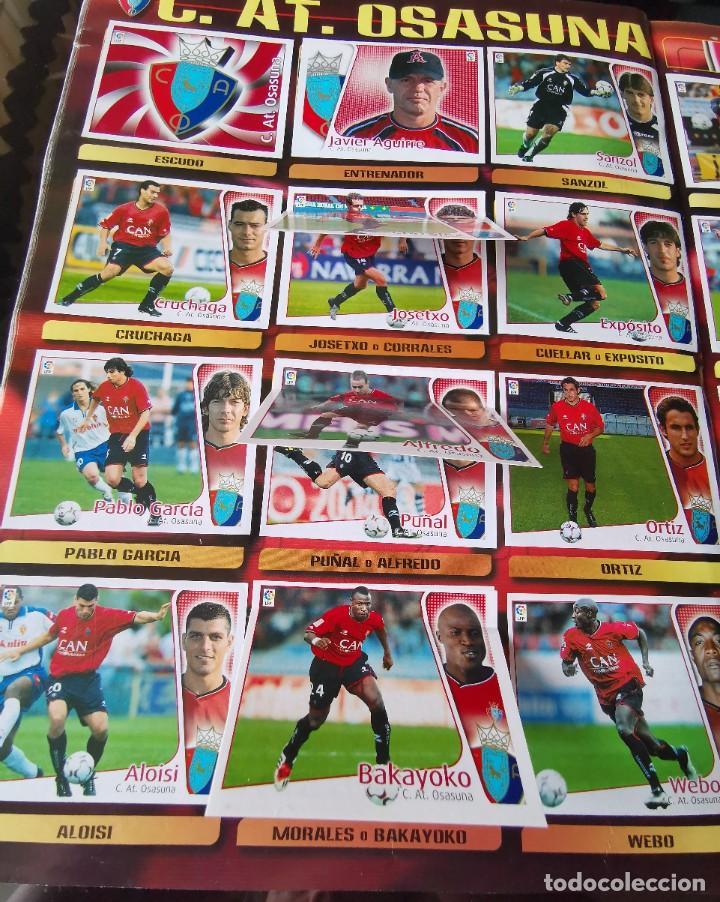 Coleccionismo deportivo: ALBUM CROMOS FUTBOL EDICIONES ESTE 04 05 LIGA 2004 2005 MESSI ROOKIE COLOCA EN VENTANILLA 509 CROMOS - Foto 38 - 218707542