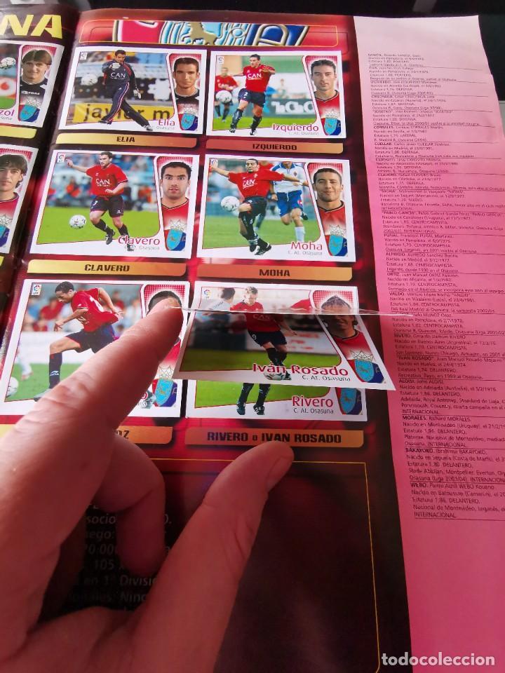 Coleccionismo deportivo: ALBUM CROMOS FUTBOL EDICIONES ESTE 04 05 LIGA 2004 2005 MESSI ROOKIE COLOCA EN VENTANILLA 509 CROMOS - Foto 39 - 218707542