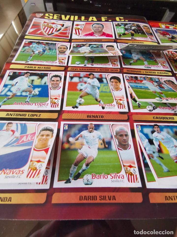 Coleccionismo deportivo: ALBUM CROMOS FUTBOL EDICIONES ESTE 04 05 LIGA 2004 2005 MESSI ROOKIE COLOCA EN VENTANILLA 509 CROMOS - Foto 42 - 218707542