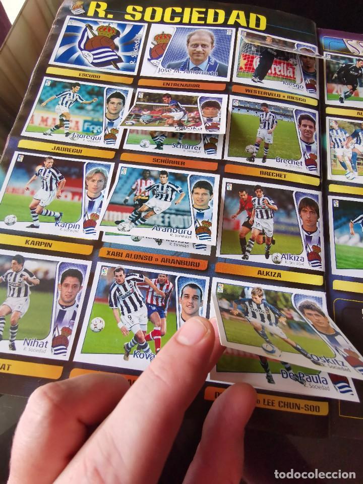Coleccionismo deportivo: ALBUM CROMOS FUTBOL EDICIONES ESTE 04 05 LIGA 2004 2005 MESSI ROOKIE COLOCA EN VENTANILLA 509 CROMOS - Foto 44 - 218707542