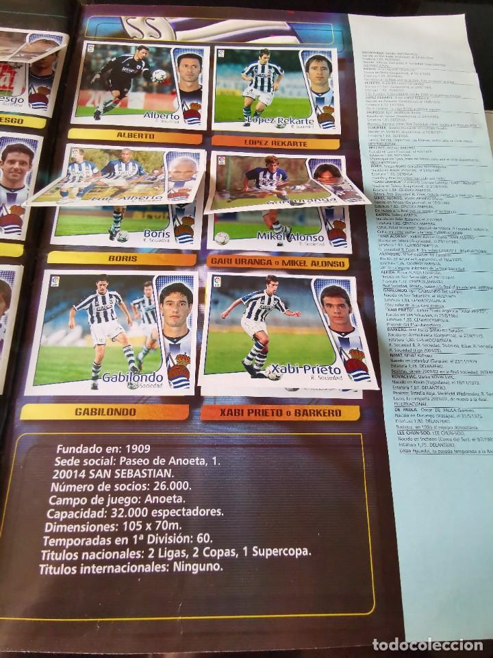 Coleccionismo deportivo: ALBUM CROMOS FUTBOL EDICIONES ESTE 04 05 LIGA 2004 2005 MESSI ROOKIE COLOCA EN VENTANILLA 509 CROMOS - Foto 45 - 218707542