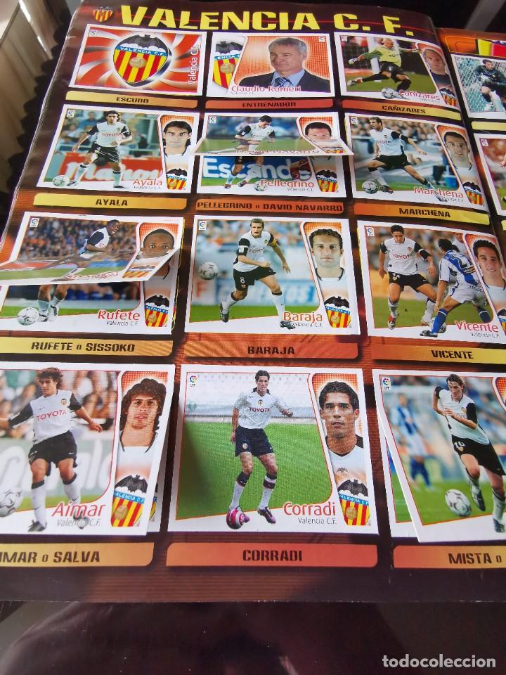 Coleccionismo deportivo: ALBUM CROMOS FUTBOL EDICIONES ESTE 04 05 LIGA 2004 2005 MESSI ROOKIE COLOCA EN VENTANILLA 509 CROMOS - Foto 46 - 218707542
