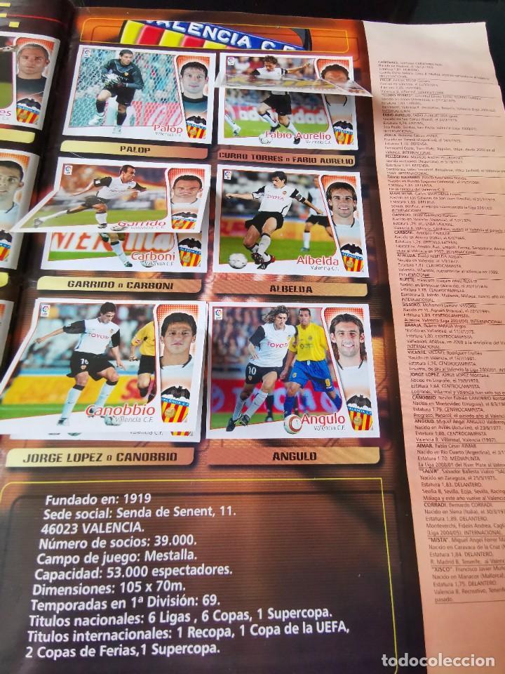 Coleccionismo deportivo: ALBUM CROMOS FUTBOL EDICIONES ESTE 04 05 LIGA 2004 2005 MESSI ROOKIE COLOCA EN VENTANILLA 509 CROMOS - Foto 47 - 218707542