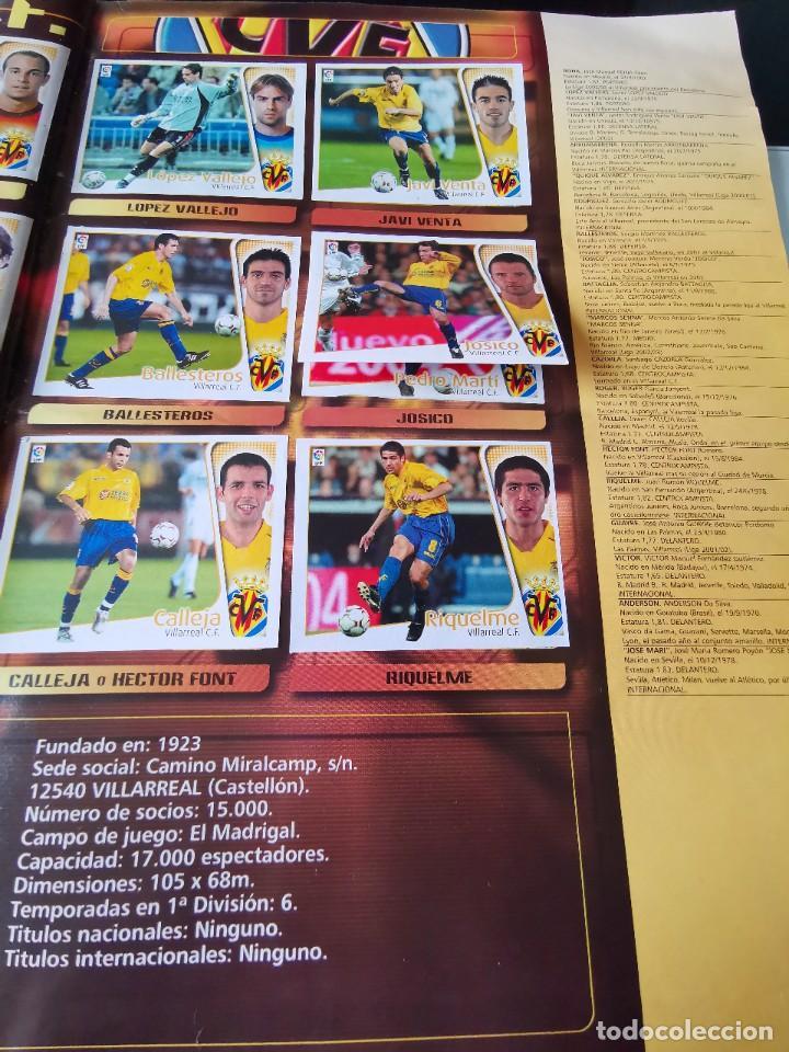 Coleccionismo deportivo: ALBUM CROMOS FUTBOL EDICIONES ESTE 04 05 LIGA 2004 2005 MESSI ROOKIE COLOCA EN VENTANILLA 509 CROMOS - Foto 49 - 218707542