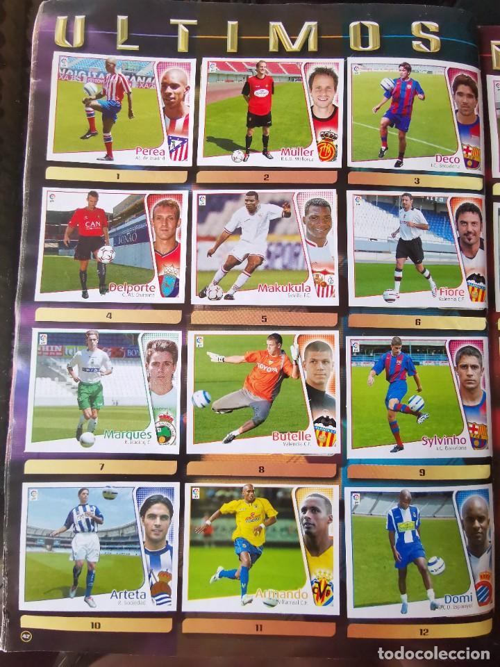 Coleccionismo deportivo: ALBUM CROMOS FUTBOL EDICIONES ESTE 04 05 LIGA 2004 2005 MESSI ROOKIE COLOCA EN VENTANILLA 509 CROMOS - Foto 52 - 218707542