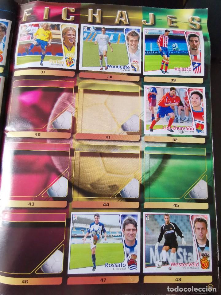 Coleccionismo deportivo: ALBUM CROMOS FUTBOL EDICIONES ESTE 04 05 LIGA 2004 2005 MESSI ROOKIE COLOCA EN VENTANILLA 509 CROMOS - Foto 55 - 218707542