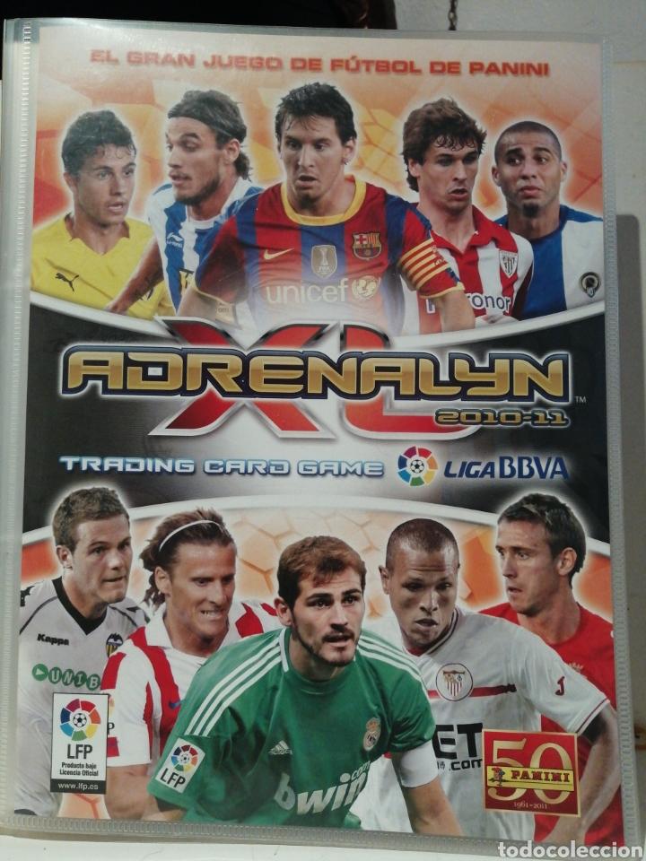 ARCHIVADOR MEGACRACKS 2010 2011 CON 484 CARDS (Coleccionismo Deportivo - Álbumes y Cromos de Deportes - Álbumes de Fútbol Incompletos)