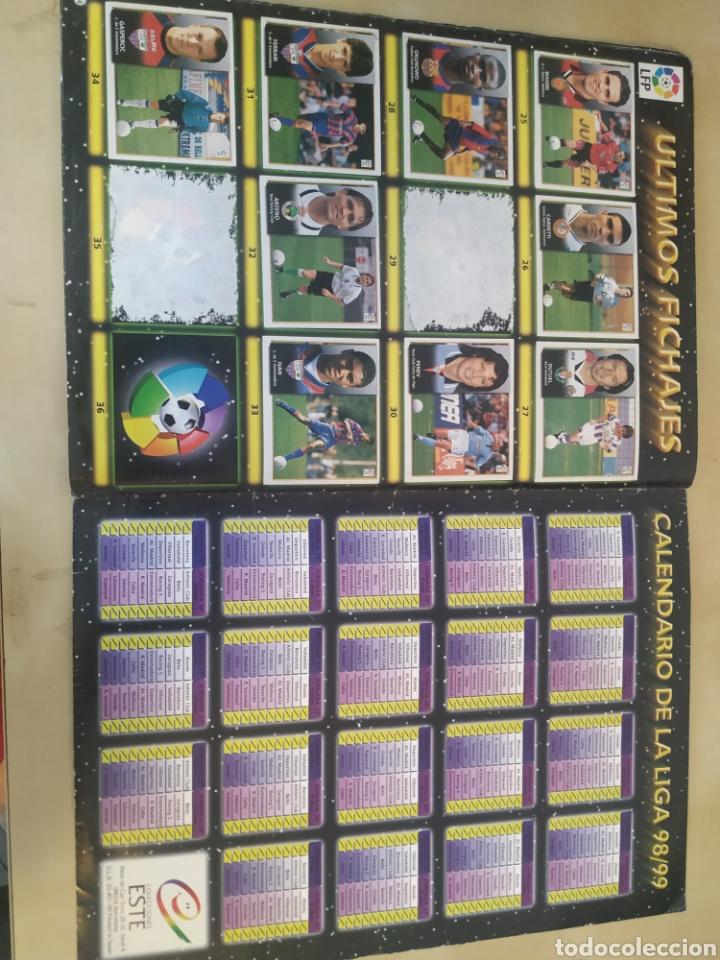 Coleccionismo deportivo: Álbum liga este 98 99 - 469 cromos, colocas, bajas, Serena (las dos versiones). - Foto 4 - 218964166
