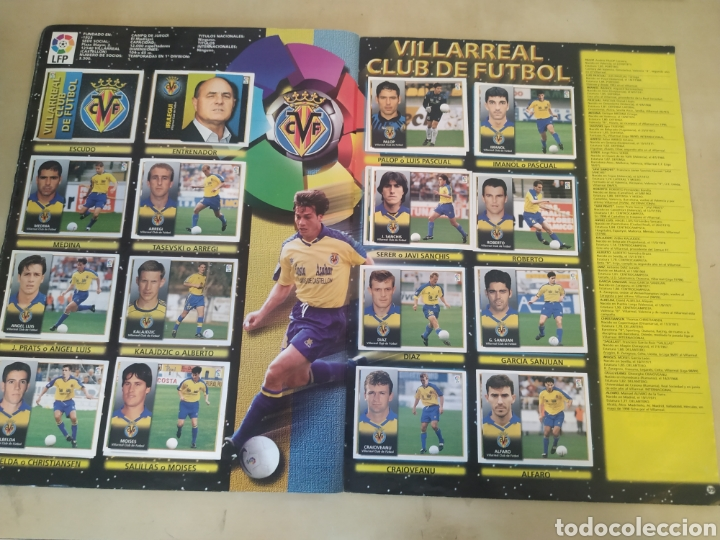 Coleccionismo deportivo: Álbum liga este 98 99 - 469 cromos, colocas, bajas, Serena (las dos versiones). - Foto 6 - 218964166