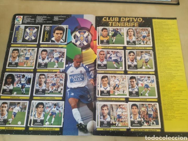 Coleccionismo deportivo: Álbum liga este 98 99 - 469 cromos, colocas, bajas, Serena (las dos versiones). - Foto 10 - 218964166