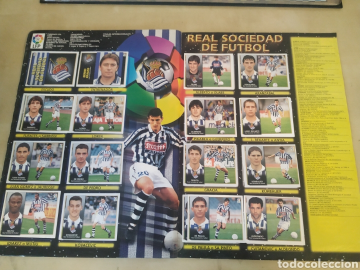 Coleccionismo deportivo: Álbum liga este 98 99 - 469 cromos, colocas, bajas, Serena (las dos versiones). - Foto 13 - 218964166