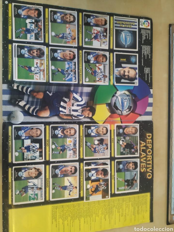 Coleccionismo deportivo: Álbum liga este 98 99 - 469 cromos, colocas, bajas, Serena (las dos versiones). - Foto 15 - 218964166