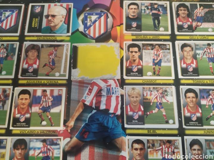 Coleccionismo deportivo: Álbum liga este 98 99 - 469 cromos, colocas, bajas, Serena (las dos versiones). - Foto 18 - 218964166