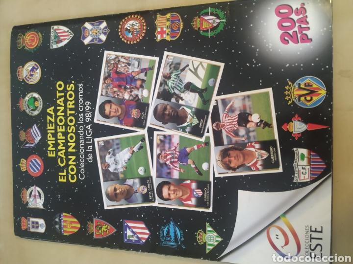Coleccionismo deportivo: Álbum liga este 98 99 - 469 cromos, colocas, bajas, Serena (las dos versiones). - Foto 20 - 218964166