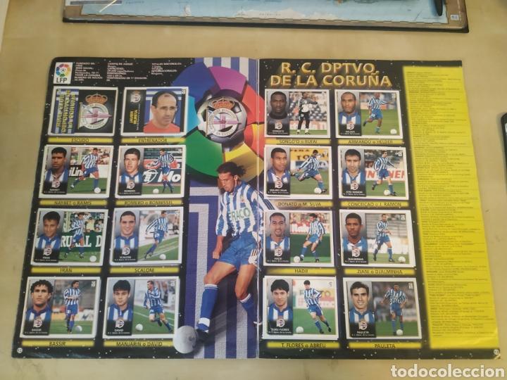 Coleccionismo deportivo: Álbum liga este 98 99 - 469 cromos, colocas, bajas, Serena (las dos versiones). - Foto 23 - 218964166