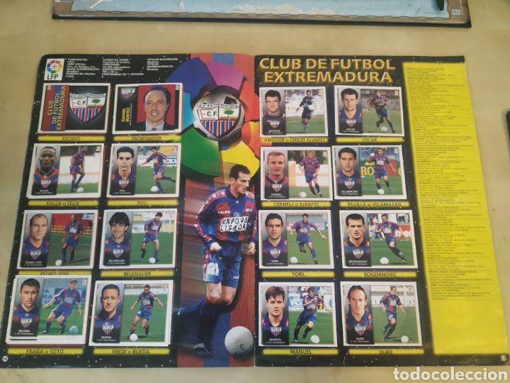 Coleccionismo deportivo: Álbum liga este 98 99 - 469 cromos, colocas, bajas, Serena (las dos versiones). - Foto 24 - 218964166