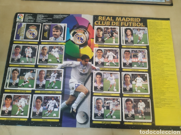 Coleccionismo deportivo: Álbum liga este 98 99 - 469 cromos, colocas, bajas, Serena (las dos versiones). - Foto 27 - 218964166