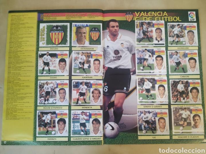 Coleccionismo deportivo: Álbum liga este 99 00 - 396 cromos, Colocas, bajas, difíciles como Jandro y Jaume. - Foto 2 - 218967071