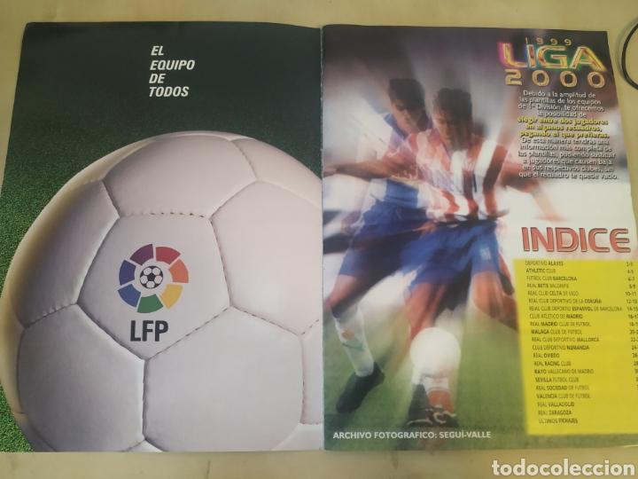 Coleccionismo deportivo: Álbum liga este 99 00 - 396 cromos, Colocas, bajas, difíciles como Jandro y Jaume. - Foto 5 - 218967071
