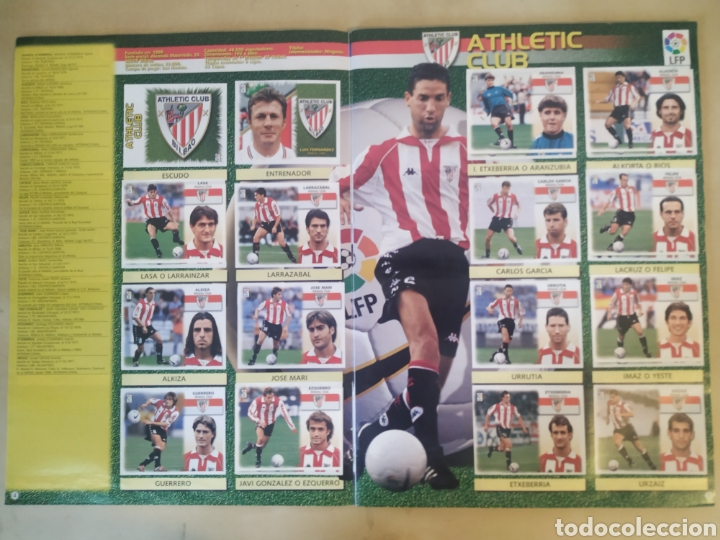 Coleccionismo deportivo: Álbum liga este 99 00 - 396 cromos, Colocas, bajas, difíciles como Jandro y Jaume. - Foto 7 - 218967071