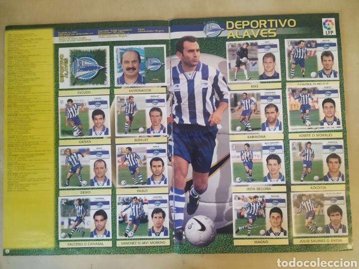 Coleccionismo deportivo: Álbum liga este 99 00 - 396 cromos, Colocas, bajas, difíciles como Jandro y Jaume. - Foto 15 - 218967071