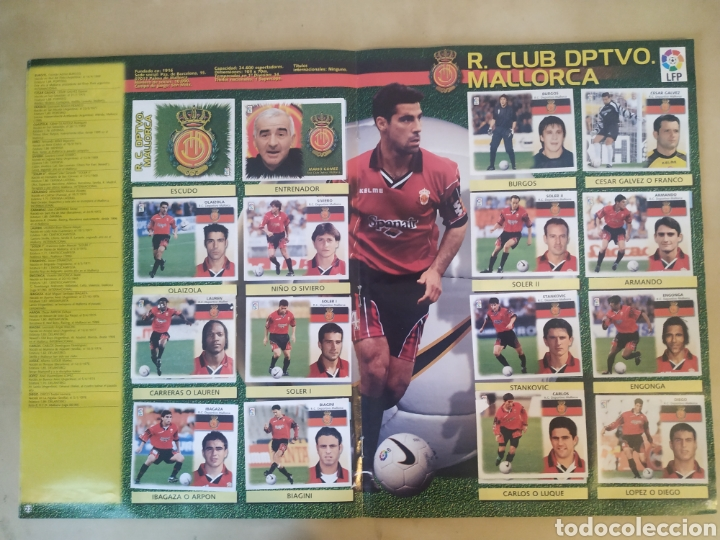 Coleccionismo deportivo: Álbum liga este 99 00 - 396 cromos, Colocas, bajas, difíciles como Jandro y Jaume. - Foto 23 - 218967071