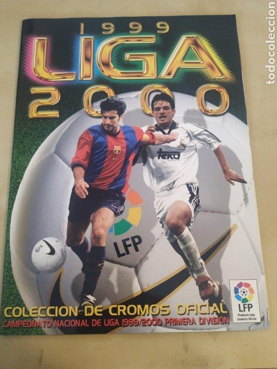 ÁLBUM LIGA ESTE 99 00 - 396 CROMOS, COLOCAS, BAJAS, DIFÍCILES COMO JANDRO Y JAUME. (Coleccionismo Deportivo - Álbumes y Cromos de Deportes - Álbumes de Fútbol Incompletos)