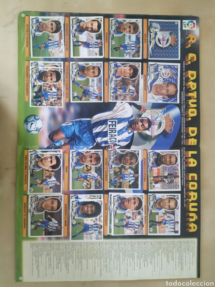 Coleccionismo deportivo: Álbum liga este 00 01 - 398 cromos, colocas, difíciles como Gerard ... - Foto 2 - 218972925