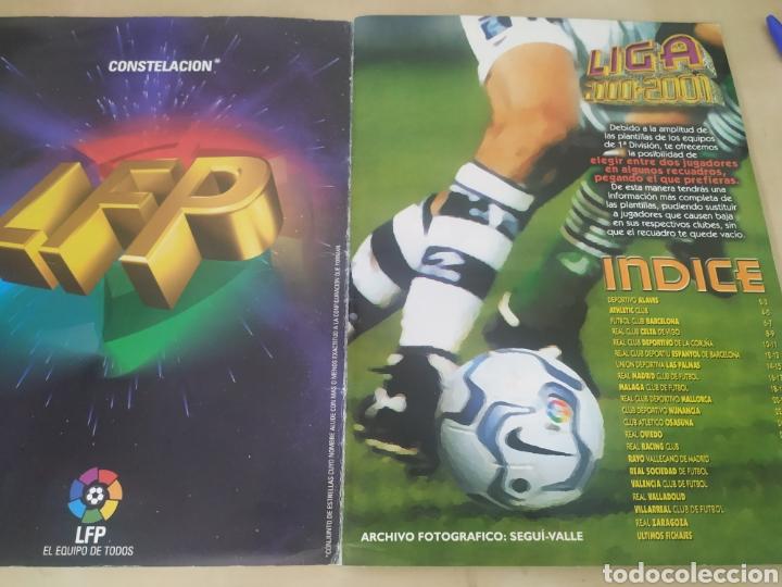 Coleccionismo deportivo: Álbum liga este 00 01 - 398 cromos, colocas, difíciles como Gerard ... - Foto 4 - 218972925