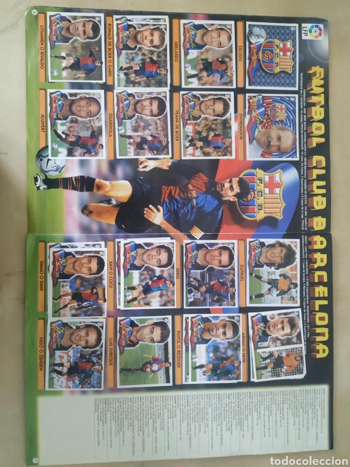 Coleccionismo deportivo: Álbum liga este 00 01 - 398 cromos, colocas, difíciles como Gerard ... - Foto 5 - 218972925