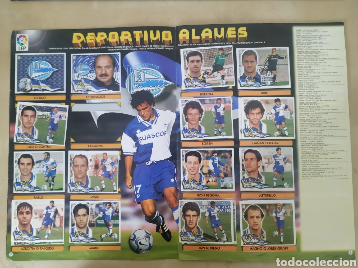 Coleccionismo deportivo: Álbum liga este 00 01 - 398 cromos, colocas, difíciles como Gerard ... - Foto 7 - 218972925