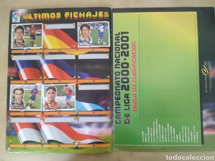 Coleccionismo deportivo: Álbum liga este 00 01 - 398 cromos, colocas, difíciles como Gerard ... - Foto 13 - 218972925