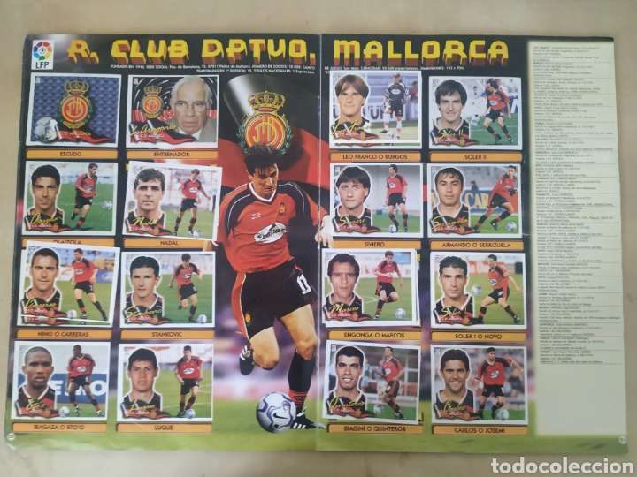 Coleccionismo deportivo: Álbum liga este 00 01 - 398 cromos, colocas, difíciles como Gerard ... - Foto 14 - 218972925