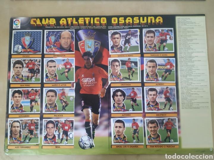 Coleccionismo deportivo: Álbum liga este 00 01 - 398 cromos, colocas, difíciles como Gerard ... - Foto 19 - 218972925