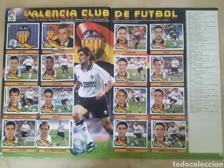 Coleccionismo deportivo: Álbum liga este 00 01 - 398 cromos, colocas, difíciles como Gerard ... - Foto 22 - 218972925