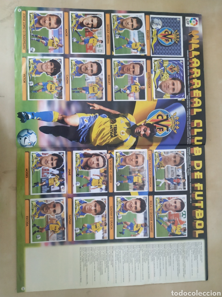 Coleccionismo deportivo: Álbum liga este 00 01 - 398 cromos, colocas, difíciles como Gerard ... - Foto 23 - 218972925