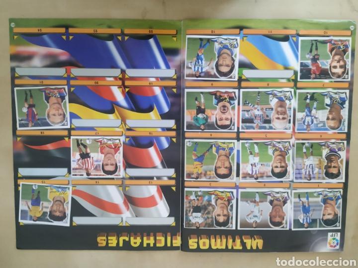 Coleccionismo deportivo: Álbum liga este 00 01 - 398 cromos, colocas, difíciles como Gerard ... - Foto 24 - 218972925
