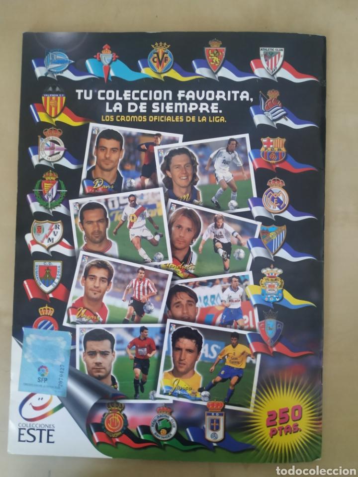 Coleccionismo deportivo: Álbum liga este 00 01 - 398 cromos, colocas, difíciles como Gerard ... - Foto 25 - 218972925