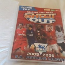 Coleccionismo deportivo: TRADING CARD GAME 2005-06 PREMIER LEAGUE. Lote 219045501