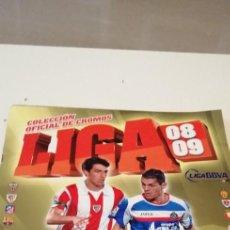 Coleccionismo deportivo: C-8 ALBUM ESTE PANINI 2008 2009 08 09 INCLUYE MESSI VER FOTOS. Lote 219222580
