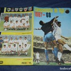 Coleccionismo deportivo: ALBUM CAMPEONATO DE LIGA 1967 1968 , EDT FHER , FALTAN 2 CROMOS , BUEN ESTADO DE CONSERVACION. Lote 219986658