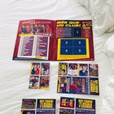 Coleccionismo deportivo: CROMOS BARÇA PANINI MESSI 2008-2009. Lote 220060863