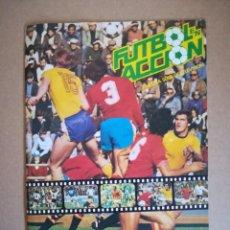 Coleccionismo deportivo: ALBUM CROMOS FUTBOL EN ACCION DANONE MUNDIAL 82 FUTBOL ESPAÑA NARANJITO SIN USAR VER FOTOS. Lote 220269756