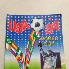 Coleccionismo deportivo: ÁLBUM DE CROMOS INCOMPLETO USA 94 ( TRAE CROMO DE MARADONA ). Lote 220800343
