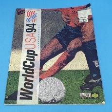 Coleccionismo deportivo: ÁLBUM DE CROMOS DE FUTBOL - WORLD CUP - USA 94 - COLLECTOR'S CHOICE - UPPER D.E.C.K.. Lote 220938108