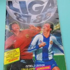Coleccionismo deportivo: ESTE 87 88 ALBUM CON TODOS LOS COLOCAS TODO EN FOTOS. Lote 221272760