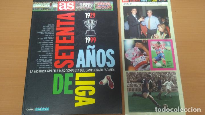SESENTA AÑOS DE LIGA LAMINA DE CROMOS (Coleccionismo Deportivo - Álbumes y Cromos de Deportes - Álbumes de Fútbol Incompletos)