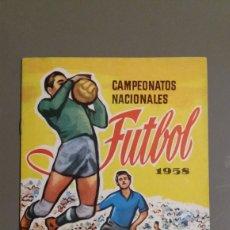 Coleccionismo deportivo: ÁLBUM PLANCHA CAMPEONATOS DE FÚTBOL 1958. Lote 221588227